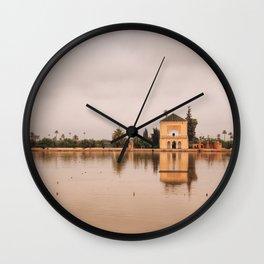 Menara Gardens Wall Clock