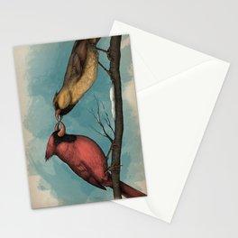 Northern Nitpicker - Maxilla Cardinalis Stationery Cards