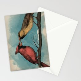 Northern Nitpicker - Maxilla Cardinalis Stationery Cards