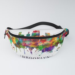 Brooklyn New York Skyline Fanny Pack