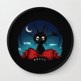 The Witch's Familiar Wall Clock