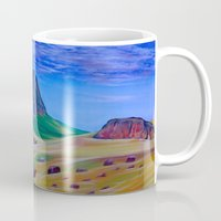 mountain Mugs featuring Mountain by ArtSchool