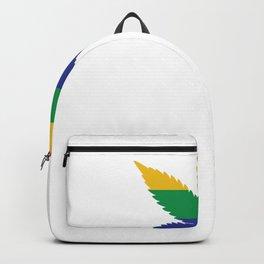 Pride Pot Leaf LGBT Backpack