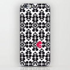 Skullz and Lace iPhone & iPod Skin