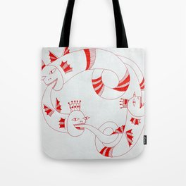 Follow the Leader at Your Own Risk Tote Bag