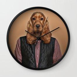 English cocker spaniel Wall Clock