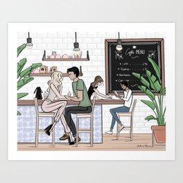 The Third Place Art Print
