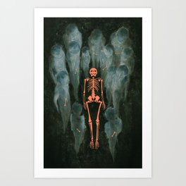 War'i Tribe Art Print