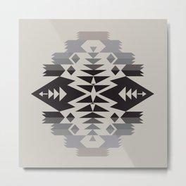 American Native Pattern No. 288 Metal Print