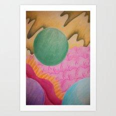 Transending Beyond Art Print