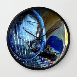 Glass Plate Wall Clock