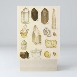 Quartz Crystals Mini Art Print