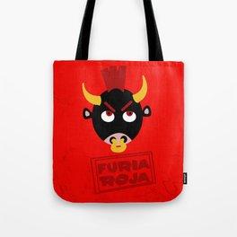 Furia Roja Tote Bag