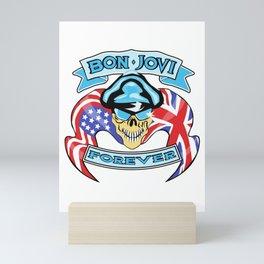 bon jovi forever logo namun Mini Art Print
