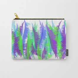 Purple and Green Abstract - original design by ArtStudio29 Carry-All Pouch
