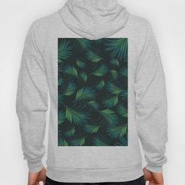 Tropical Night Palms Pattern #1 #tropical #decor #art #society6 Hoody