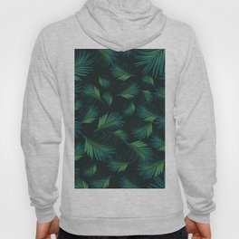 Tropical Night Palms Pattern #1 #tropical #decor #art #society6 Hoody