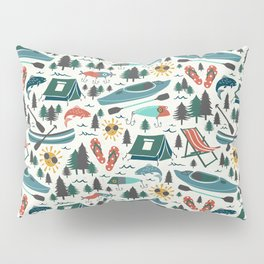 Lake Life - Summer Ivory Pillow Sham