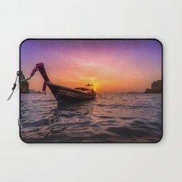 Longtail Sunset Laptop Sleeve