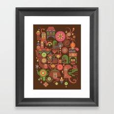Sugar Machine Framed Art Print