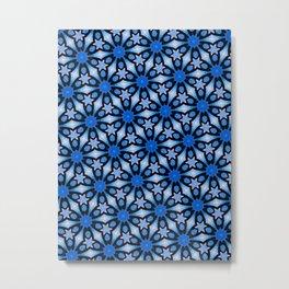 Blue stars of celebration Metal Print