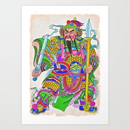 Japanese Samurai Warrior Art (30) Art Print