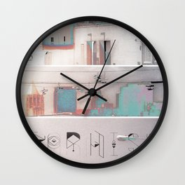Streets of Paradise Wall Clock