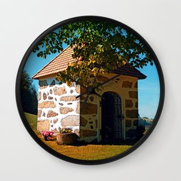 The Binder chapel (and some tree) Wall Clock