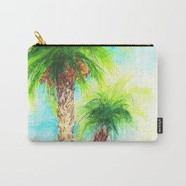 Sea, sand, palm trees Carry-All Pouch