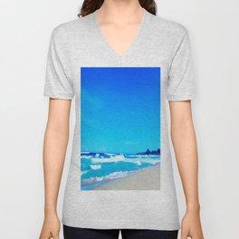 Carribean Coast Unisex V-Neck
