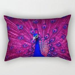 Peacock Pink 85 Rectangular Pillow