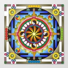 Mandala17 Canvas Print