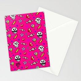 Skulls 'n' Flowers Stationery Cards