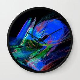 Aurora Windstorm Wall Clock