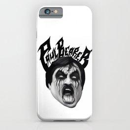 Black Metal Paul Bearer iPhone Case