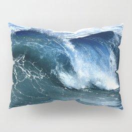 Deep Blue Waves Pillow Sham