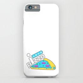 I love Pizza iPhone Case