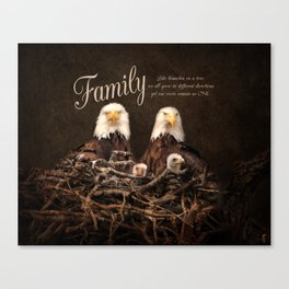 Family is Forever Canvas Print