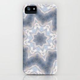 Purple Kaleidoscope Pattern iPhone Case
