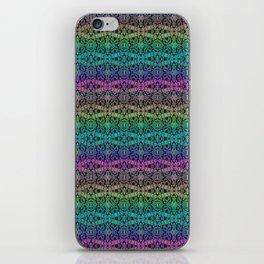 Hidden Rainbow Pattern iPhone Skin