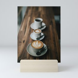 Latte Art II Mini Art Print