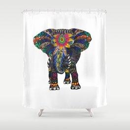 Spiritual Elephant Shower Curtain