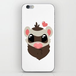 Sable Ferret iPhone Skin