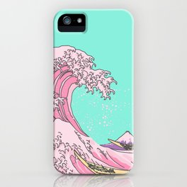 Great Pastel Wave iPhone Case