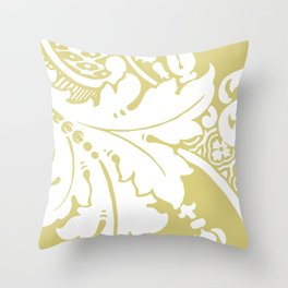 Acantha ~ French Green Throw Pillow
