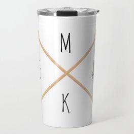 MAKE  |  Knitting Needles Travel Mug