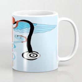 medical caduceus and stethoscope Coffee Mug