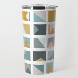 Mini Quilt Blocks Travel Mug