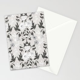 Vintage floral ornament Stationery Cards