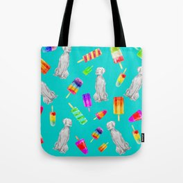 WEIMS AND POPSICLES Tote Bag